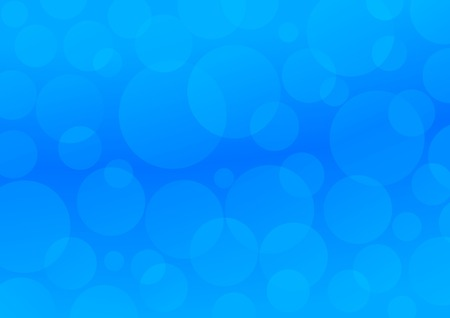 Blue circles. Abstract blue background Vector