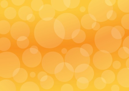 Orange circles. Abstract oarange background Vector