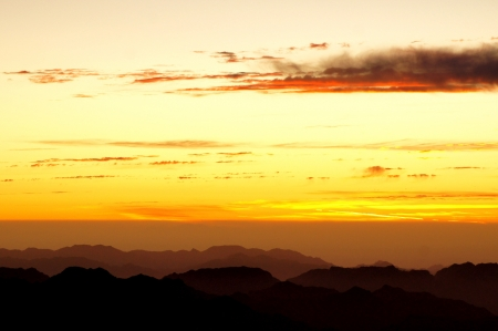 Sunrise over Mount Sinai
