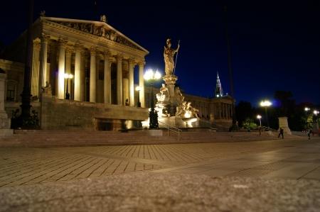 Parliament Building in Vienna, Austria