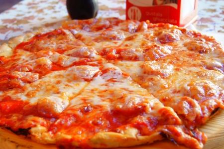 Big pizza sandy sausage