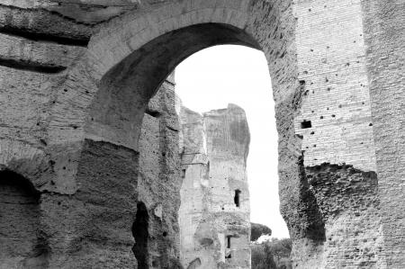 county somerset: Roman baths of the emperor Caracalla