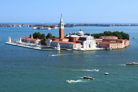 The Monastery of San Giorgio in Venice    photo