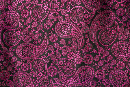 Black and purple pattern texture of fabric photo