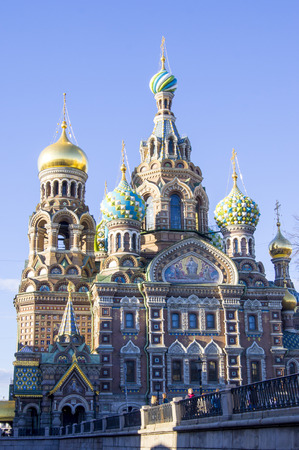 The Cathedral of Our Savior on Spilled Blood in St. Petersburg