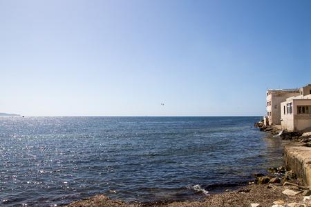 castellammare del golfo: Coast resort town on the island of Sicily Trapani