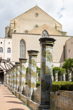 Monastery of St. Clare in the heart of Naples