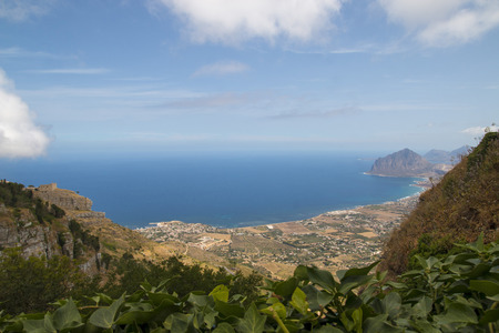 Mediterranean blue in Sicily, near the town of Balestrate