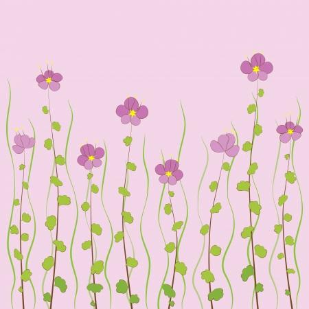 flores peque�as: Peque�as flores Vectores