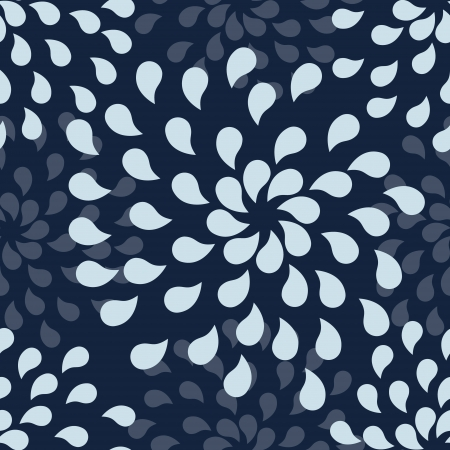 fallout: Seamless pattern with abstract drops.