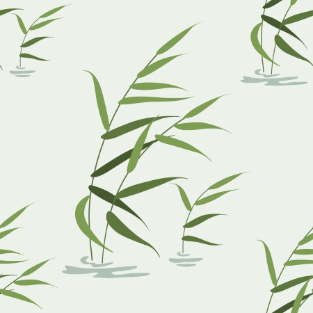 Seamless texture with image of reeds.