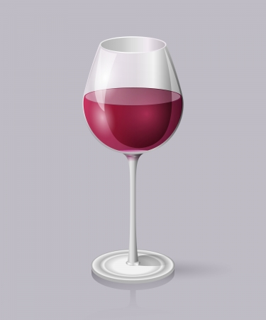 gastronome: Glass of red wine