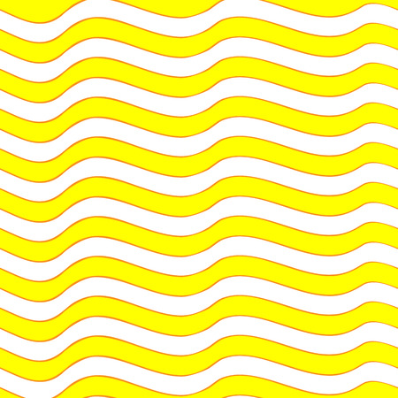 Seamless texture with yellow waves.