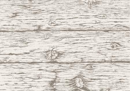 Grau Holz Textur Hintergrund. Hand alte Holzplatte gezogen. Graue hölzerne horizontale Bohlen Hintergrund. Vector Skizze.