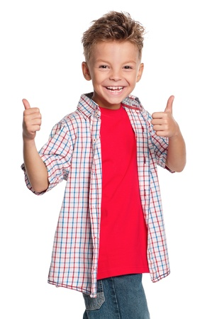 Portrait of boy Stock Photo