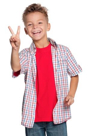 simbolo de la paz: Retrato del niño