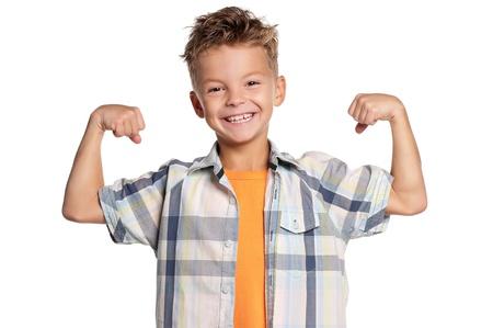 Portrait of boy photo