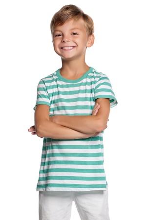 mani incrociate: Ritratto di ragazzo