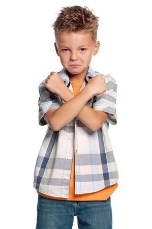 Portrait of boy Stock Photo