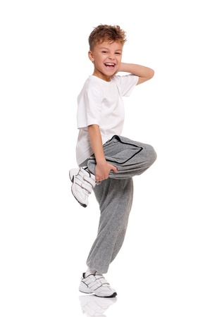 pies bailando: Boy baile
