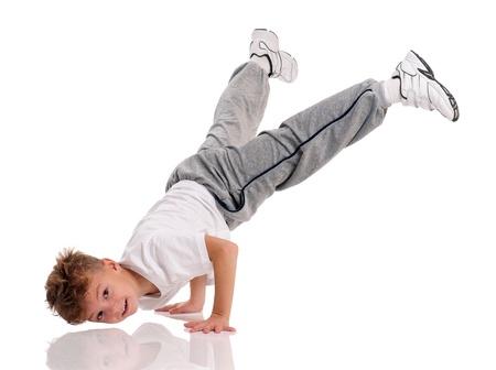 ni�o modelo: Boy baile