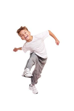 ni�o saltando: El muchacho que salta