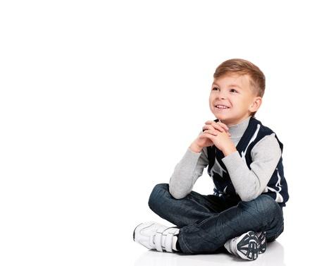 Happy boy Stock Photo - 16883758