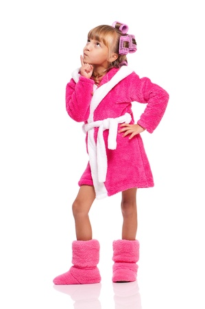 Makeup little girl Stock Photo - 16883761