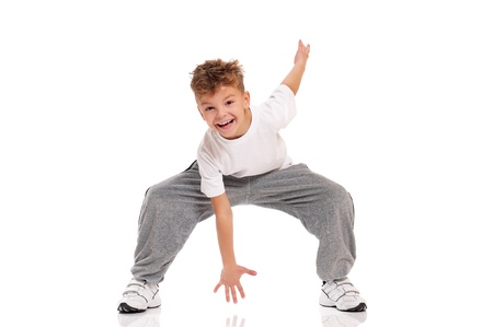 Boy dancing Stock Photo - 17567584