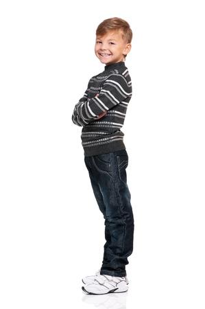 sideways: Happy boy