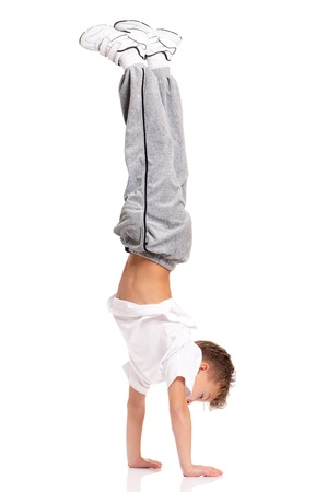 Boy gymnastic Stock Photo - 17600501