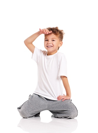 break dancing: Boy dancing
