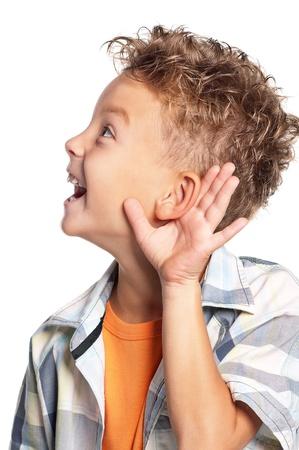 duymak: Erkek çocuk portresi