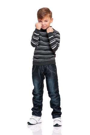 Anger boy Stock Photo - 18058126