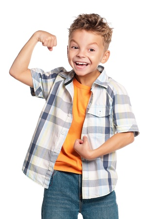 Happy boy photo