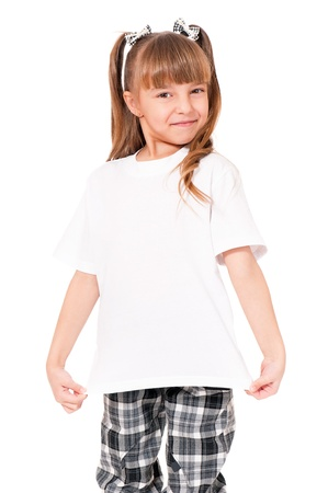 shop front: T-shirt on girl