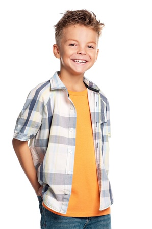 Portrait of boy Standard-Bild
