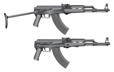 automatic rifle: Gun illustration