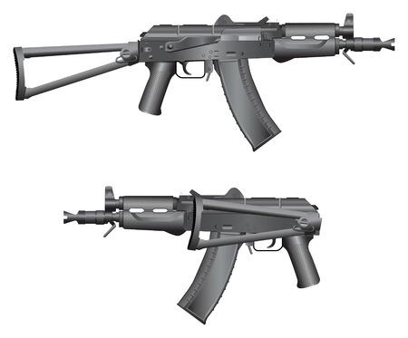Gun illustration Stock Vector - 4524168