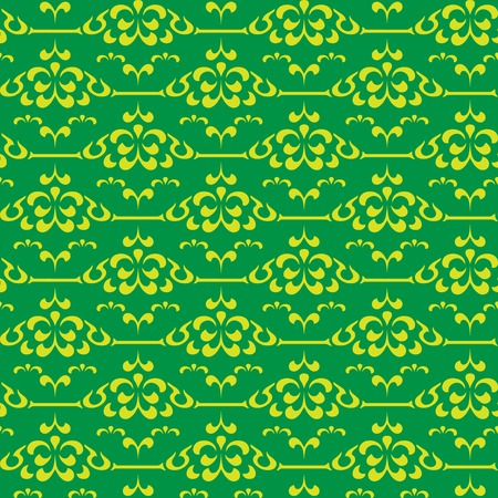 Seamless pattern from abstract yellow flower(can be repeated and scaled in any size)