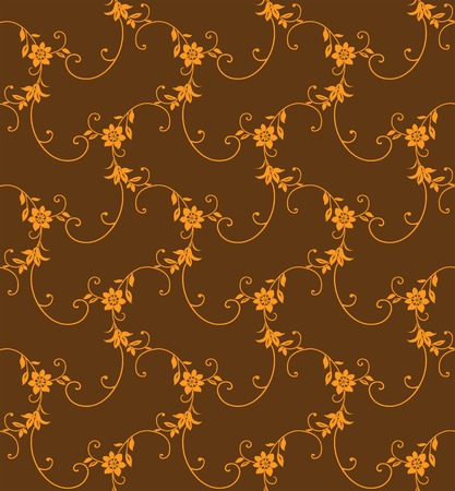 Seamless floral pattern vector illustration element for design(can be repeated and scaled in any size)