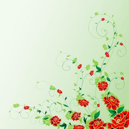 Decorative floral vector ornament Stock Vector - 4654161
