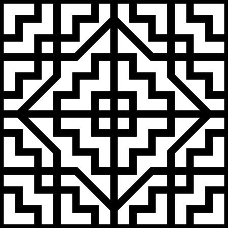 geometric ornament Stock Vector - 5654004