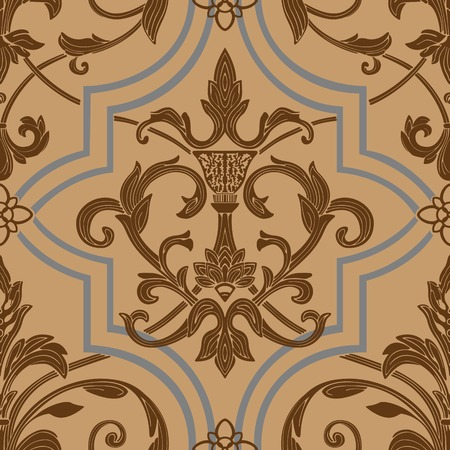 damask seamless wallpaper Stock Vector - 5654035