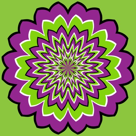 illusion: optical illusion Illustration