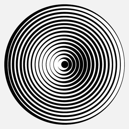 abstrakcyjna desgin z ilustracji złudzenie optyczne kształty geometryczne