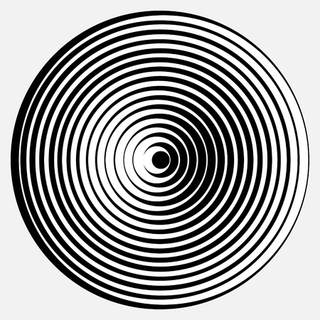 desgin abstraite avec illustration des formes g??iques illusion optique
