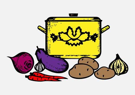 saute: Cooking Stock Photo