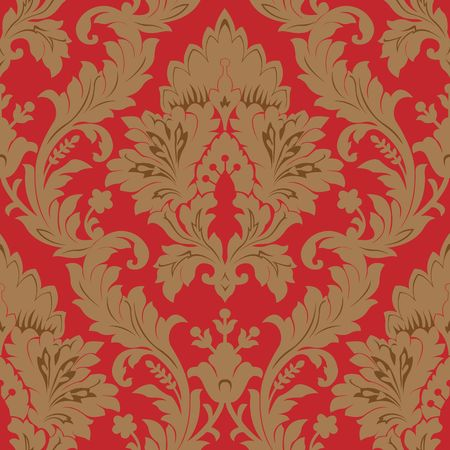 damask: Seamless damask pattern
