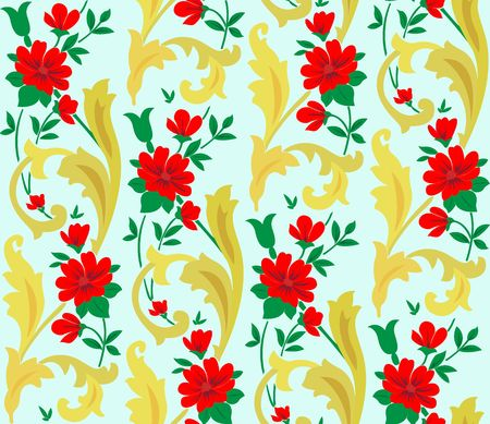 Floral background Stock Photo - 6805521